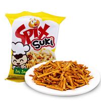 印尼进口 SPIX小苏琪酱油鸡味小拉面(油炸方便面)小鸡面 干吃捏碎速食面 干脆面 20g *33件