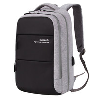 OMT 男士商务双肩包 休闲背包 15.6寸电脑包