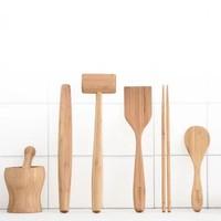 家逸 厨房工具套装 六件套