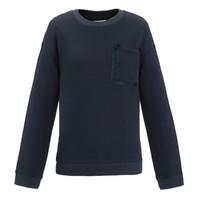 设计师品牌 XU ZHI 口袋编绳细节针织卫衣 深蓝 12