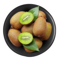 京觅 翠香猕猴桃 单果约80-100g 22-25个板盒装 净重1.9kg  *4件