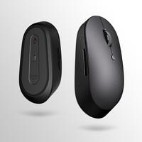 米物 S500 无线双模鼠标 蓝牙5.0 对称手感设计 自营