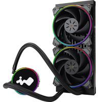 迎广(IN WIN)R24 一体式CPU水冷散热器 240mm冷排(ARGB主板同步/发光冷排/静音/支持Intel/AMD CPU)