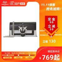双11预售:PINKO品高女士拼色小号链条单肩斜挎燕子包包1P21CJ Y5FF