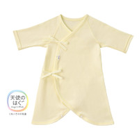 MIKIHOUSE 纯棉日本制新生儿基本款 连体贴身内衣 蝴蝶衣