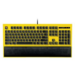RAZER 雷蛇 背光键盘 皮卡丘限定款