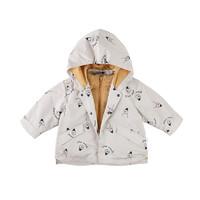 PaPa 葩葩 PB19DWT06 宝宝防风保暖外套 (墨绿色、中性)