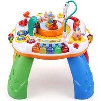 谷雨游戏桌多功能学习桌婴儿儿童玩具桌