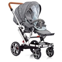 GESSLEIN F6 高景观婴儿推车 赠12寸大前轮+妈咪包