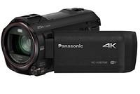 Panasonic 松下 HC-VX870EB-K 4K 30p/25p 摄像机,带无线双摄像头