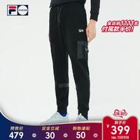 FILA FUSION X STAPLE 斐乐男子长裤 2019秋季新款宽松工装裤男裤