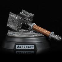 21日0点、双11预售 : 影时光 魔兽世界周边WOW毁灭之锤杜隆坦之斧国王剑盾1:6还原模型