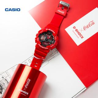 新品发售、双11预售 : CASIO 卡西欧 G-SHOCK X 可口可乐 限定联名套装
