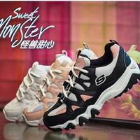 SKECHERS 斯凯奇 88888328 女款熊猫鞋