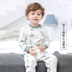 Miiow  猫人宝宝秋衣秋裤套装 *2件