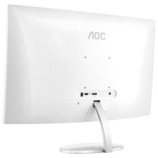 AOC 冠捷 CQ27N2 27英寸显示器 2560×1440 VA 75HZ-120HZ 1500R