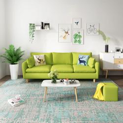 现代简约沙发客厅整装沙发多色可选小户型 *3件