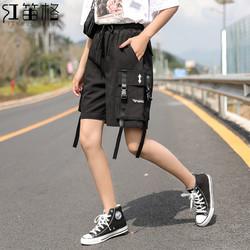 HDG 红笛格 HK3201A 女士工装短裤