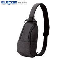 ELECOM 宜丽客 单肩微单相机挎包 黑色