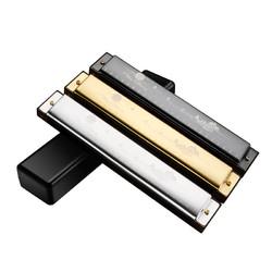 飞煌乐器 进口24孔C调复音口琴 F2402