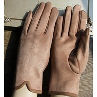 誉赫 1808 麂皮绒手套