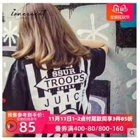 INNERSECT 潮牌  TMSP11 CLOT xSSUR联名款 JUICE限定 短袖T恤
