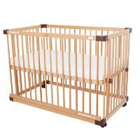 Farska日本婴儿床实木拼接大床宝宝床多功能四合一