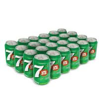 七喜 7UP 柠檬味 汽水碳酸饮料 330ml*24罐