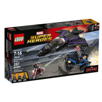 LEGO 乐高 超级英雄系列 76047 黑豹追击战