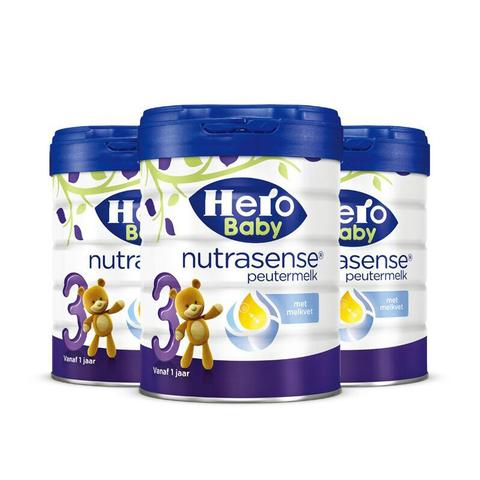 历史低价、双11预售:Hero Baby 白金版 婴儿奶粉 3段 700g*3罐