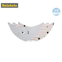 巴拉巴拉婴儿用品宝宝口水巾儿童围兜秋冬男童女童三角巾
