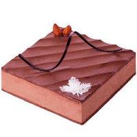 贝思客 慕尼黑巧克力蛋糕巧克力生日蛋糕 2磅
