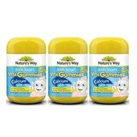 Nature's Way 钙+维生素D儿童营养软糖60粒 *3件