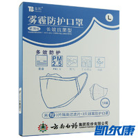 泰邦 泰邦 雾霾防护口罩 长效抗菌型 (白色)