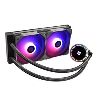 利民(Thermalright)Frozen EYE 240 RGB一体式水冷 CPU散热器RGB智能调速风扇rgb冷头