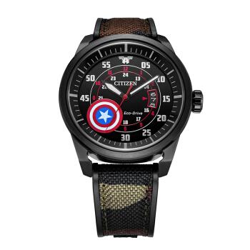 CITIZEN 西铁城 漫威系列 AW1367-05W 男士光动能手表