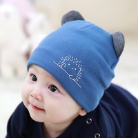SUKERR 苏可儿 婴儿保暖帽子