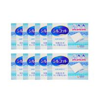 双11预售 : unicharm 尤妮佳 Silcot 压边厚款化妆棉 82片 8盒装