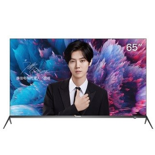 KONKA 康佳 A9系列 65A9 65英寸 4K超清电视 黑色