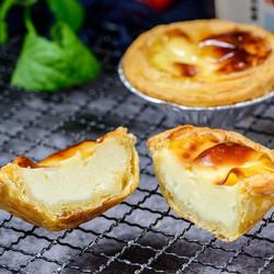 西厨贝可葡式蛋挞皮蛋挞液套装家用肯德基烘焙半成品 自制材料2套