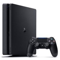 SONY 索尼 PS4 体感家用游戏机 黑色 1TB 港版