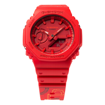 G-SHOCK X QQ [时间胶囊] 限量合作款 GA-2100-4APRTC 运动腕表