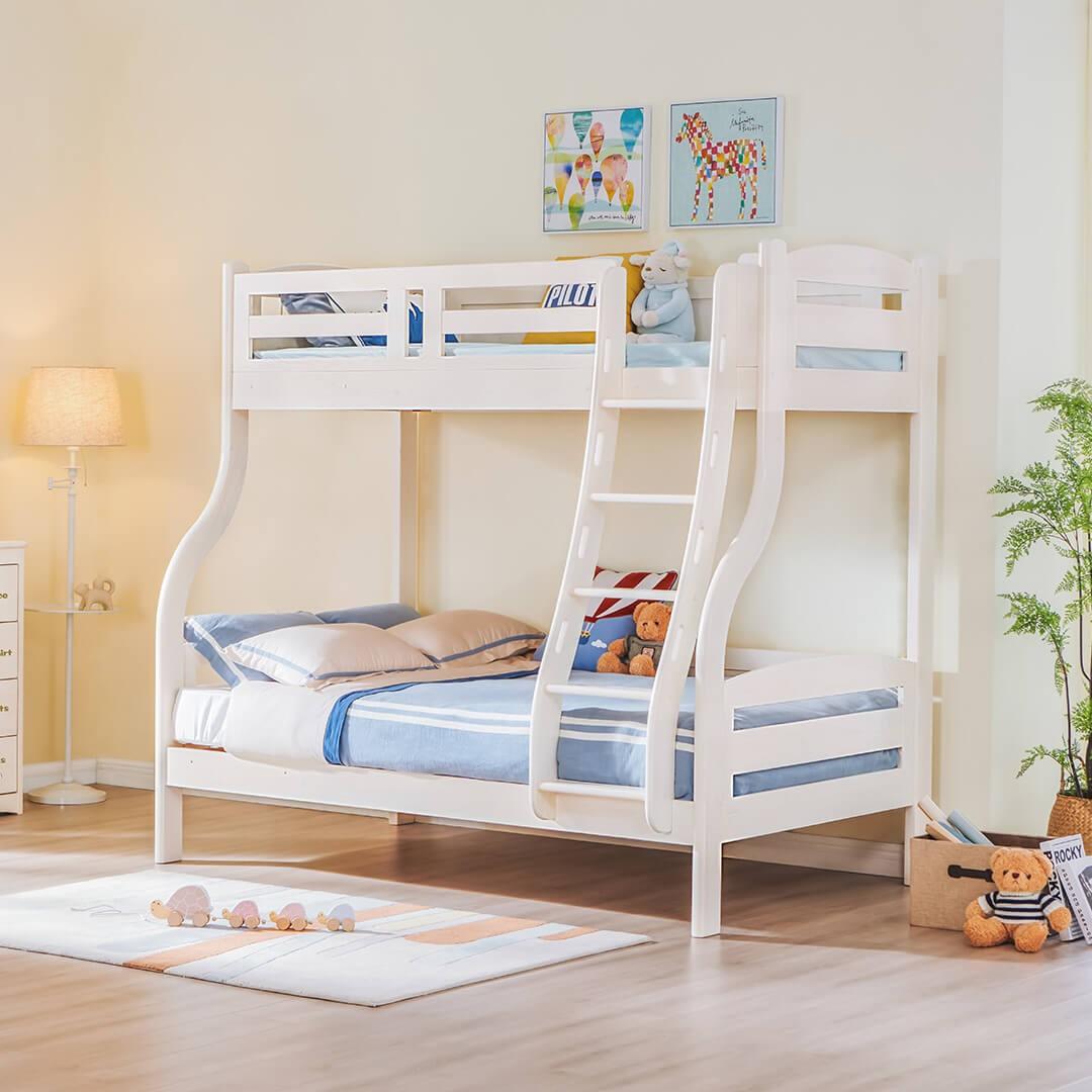 松堡王国 全实木儿童双层床 1.2*1.9m