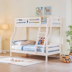 松堡王国全实木儿童双层床