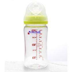 Richell 利其尔 新生儿防胀气宽口径奶瓶 320mL