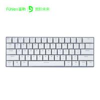 Fuhlen 富勒 第九系 G610 无线蓝牙双模机械键盘 Cherry轴 61键