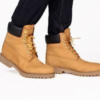 InteRight 男士防水工装靴