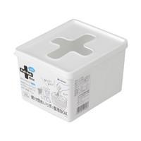 inomata 十字收纳盒 (白色)