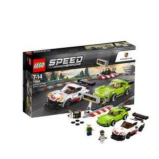 考拉海购黑卡会员 : LEGO 乐高 超级赛车速度冠军系列 75888 保时捷911 RSR&Turbo3.0