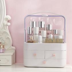 网红化妆品防尘防水收纳盒